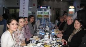 Burs verdiğimiz öğrencilerimizle kahvaltıda buluştuk