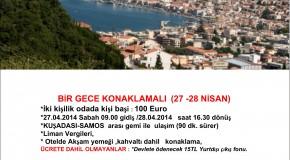 ADABELENLİLER SAMOS ADASI GEZİSİ