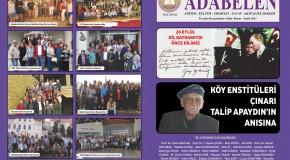ADABELEN DERGİSİ 50.SAYIMIZ